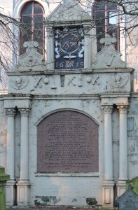 Post 8 Guild Memorial, Kirkyard Jan 2014 DSCN0156