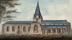 Kirk coloured drawing pre=1837