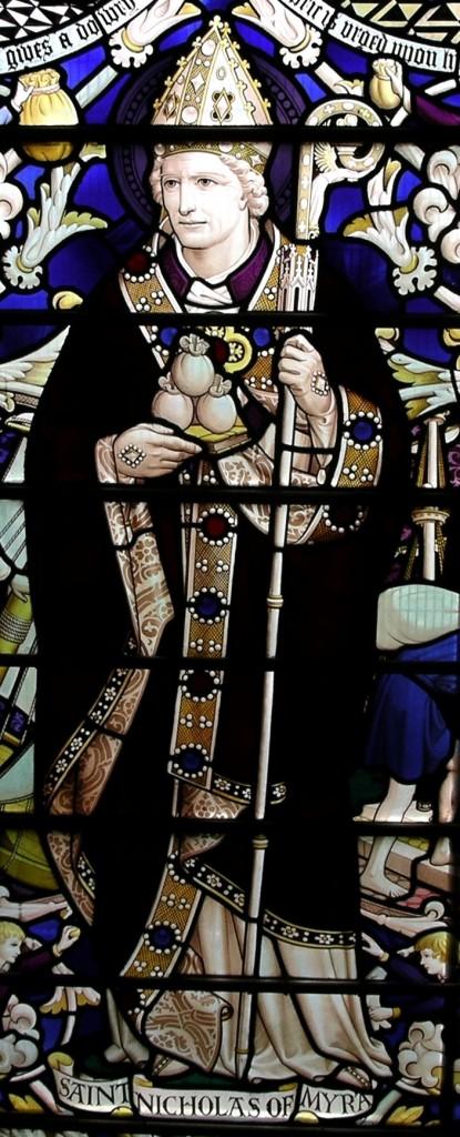 Post 26 St Nicholas Window in the West Kirk
