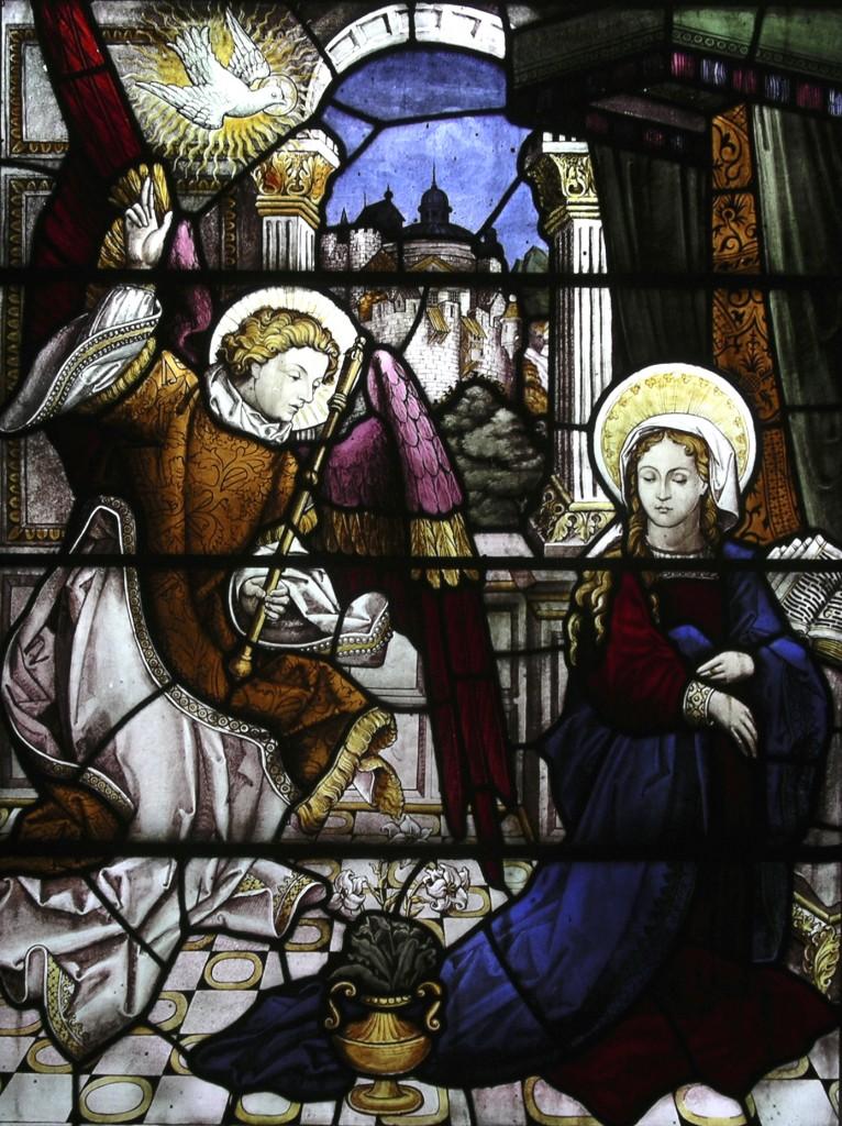 Post 34 Annunciation-ChalmersWindow-WestKirk
