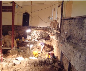 E84 St Nicholas Site Week 32 Building in area B - work in progress Aberdeen Art Gallery & Museums Collections