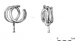 Post 51 Drawing of gold object