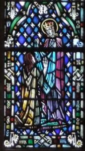 Post 53 (b) St Margaret giving alms