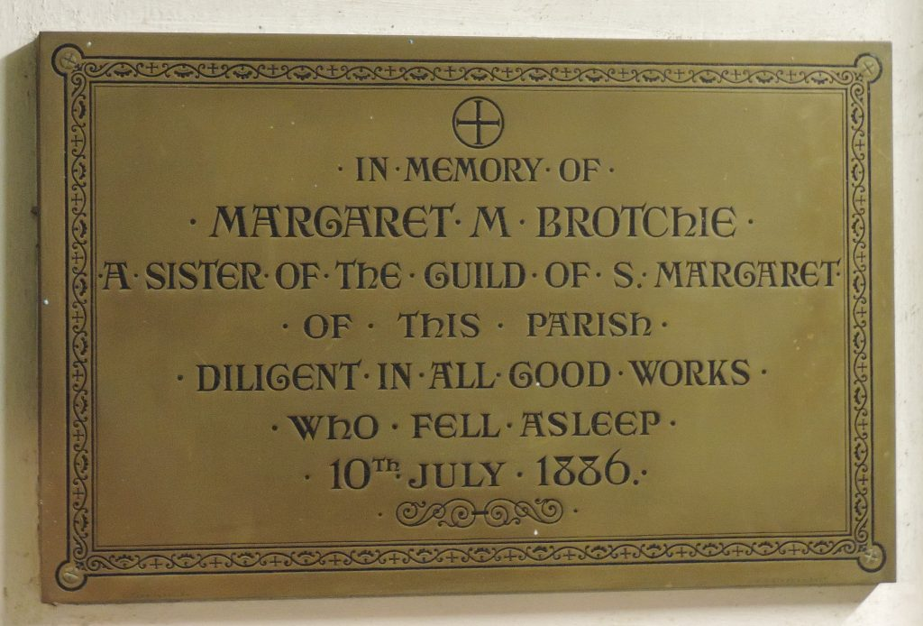post-79-memorial-to-margarret-brothchie-smc-sisters-of-guild-of-st-margaret